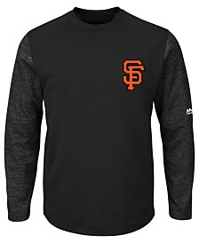 Majestic Men's San Francisco Giants AC On-Field Tech Fleece Pullover