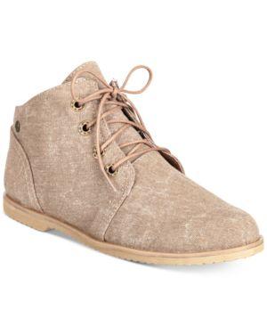 BEARPAW | Bearpaw Clair Lace-Up Desert Booties Women'S Shoes | Goxip