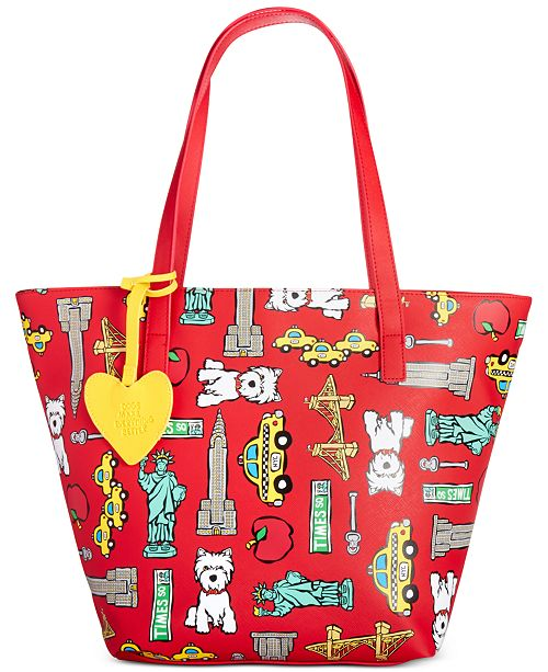 Marc Tetro Cut Out Tote - Handbags   Accessories - Macy s bd278fcbb57fe