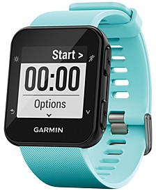 Unisex Forerunner® 35 Blue Silicone Strap GPS Smart Watch 40.7x40.7mm