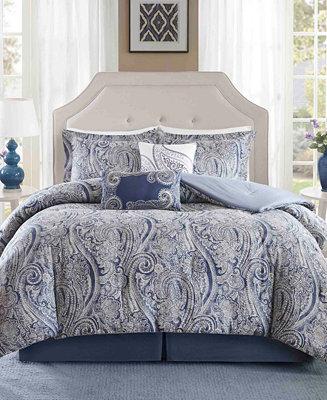 Harbor House Stella 6pc Paisley Print Full Comforter Set