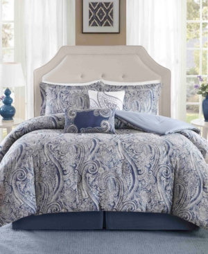 Harbor House Stella 6PC Paisley Print Full Comforter Set Bedding