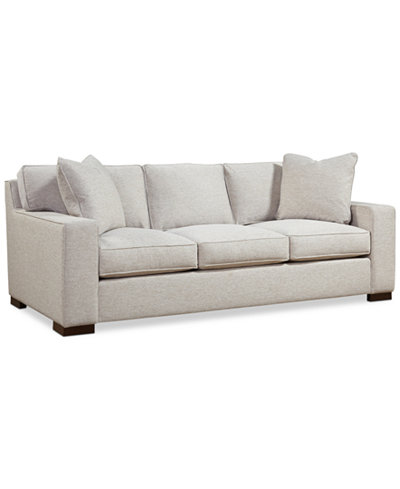 Bangor 89 Quot Fabric Sofa Created For Macy S Furniture
