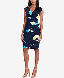 Lauren Ralph Lauren Floral-Print Sheath Dress, Regular & Petite