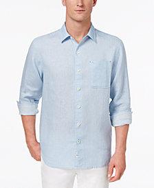 Tommy Bahama Men's Sea Glass Breezer Linen Shirt, Created for Macy's