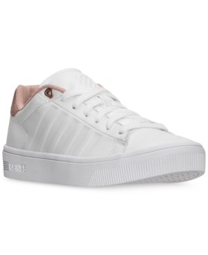 K-Swiss  K-SWISS WOMEN'S COURT FRASCO CASUAL SNEAKERS FROM FINISH LINE