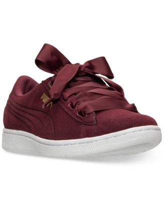 MAROON PUMA SNEAKERS WITH LACES | Shoes | Springfield Man & Woman