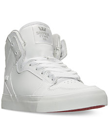 Supra Big Boys' Vaider Casual Skate High Top Sneakers from Finish Line