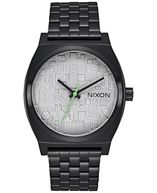 Nixon Time Teller Stainless Steel Bracelet Watch 37mm A045SW