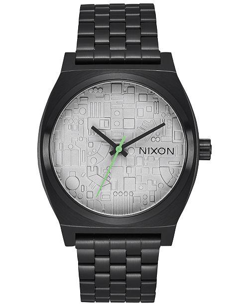 8ba2fd133a8 ... Nixon Time Teller Stainless Steel Bracelet Watch 37mm A045SW ...