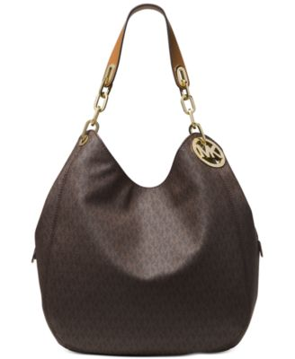 Image of MICHAEL Michael Kors Signature Fulton Large Shoulder Bag
