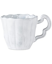 Vietri Incanto Scallop Mug