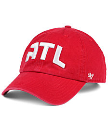'47 Brand Atlanta Hawks Clean Up Cap