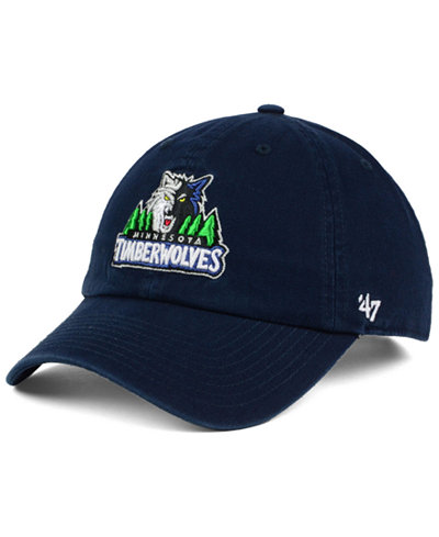 '47 Brand Minnesota Timberwolves Clean Up Cap