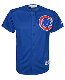Majestic MLB Chicago Cubs Replica Cool Base Jersey, Little Boys (4-7)