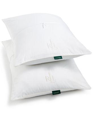 lauren ralph lauren liteloft down alternative jumbo pillows 2pack