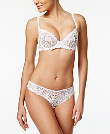 DKNY Classic Sheer Lace Bra & Thong