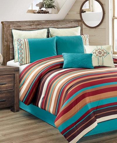 CLOSEOUT! Leena 8-Pc. Comforter Sets