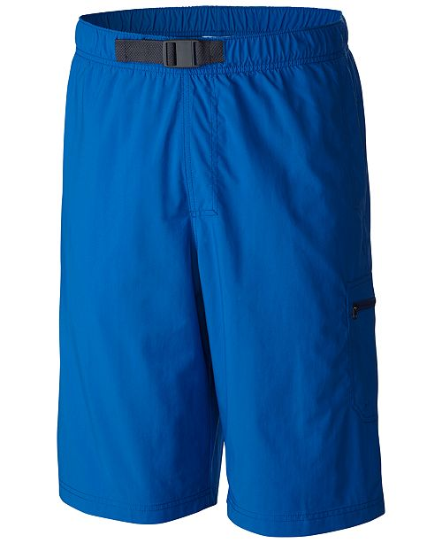 Columbia Men's Palmerston Peak Performance Sun Protection Cargo Shorts