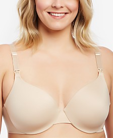 Motherhood Maternity Plus Size Full-Coverage Underwire Nursing Bra