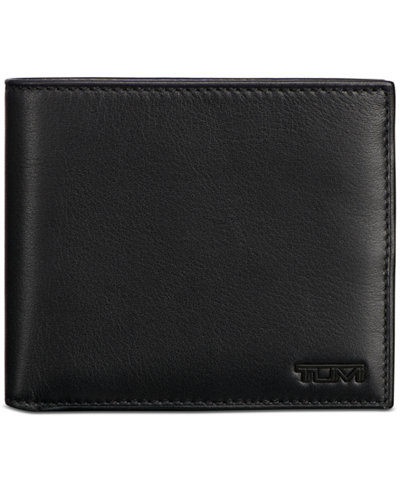 Tumi Men's Global Nappa Leather Bifold Passcase