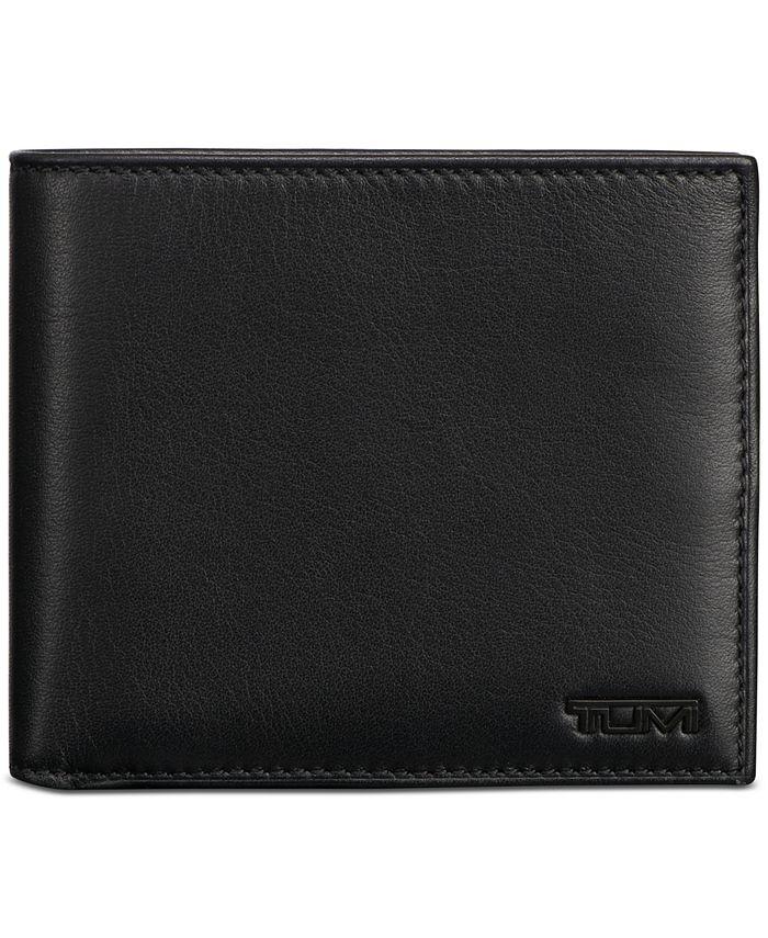 TUMI - Men's Global Nappa Leather Bifold Passcase