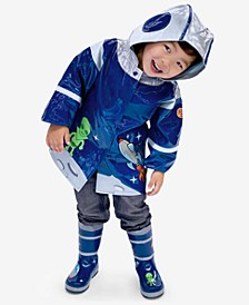 Space Hero Rain Gear, Toddler Boys & Little Boys