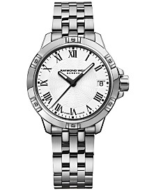 RAYMOND WEIL Swiss Women's Tango Stainless Steel Bracelet Watch 30mm 5960-ST-00300