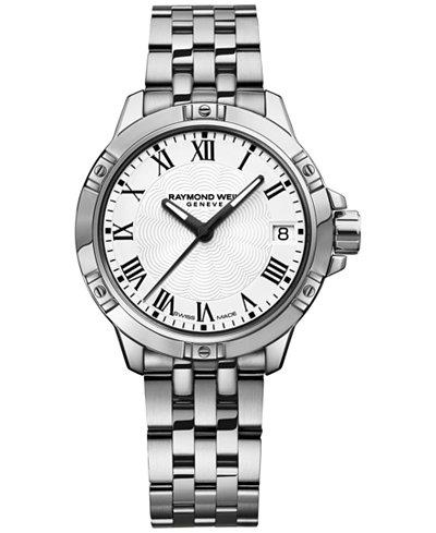RAYMOND WEIL Swiss Women's Tango Stainless Steel Bracelet Watch 30mm 5960-ST-00300