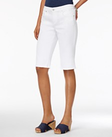 Style & Co Petite Cutoff Bermuda Shorts, Created for Macy's