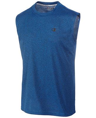 9509441917b37 Champion Men s Vapor Heathered Muscle Tank   Reviews - T-Shirts - Men -  Macy s