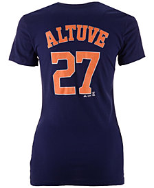 Majestic Women's Jose Altuve Houston Astros Crew Player T-Shirt