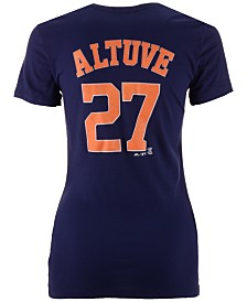 Majestic Women's Jose Altuve Houston Astros Crew Player T-Shirt