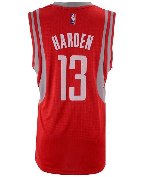 save off 1ad6d 7cd0f adidas Men's James Harden Houston Rockets Swingman Jersey ...