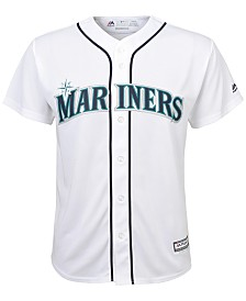 Majestic Kids' Seattle Mariners Replica Jersey, Big Boys (8-20)