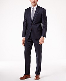 Navy Plaid Ultraflex Suit Separates