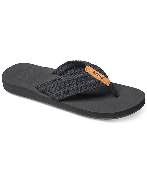 8fe4188e777 REEF Cushion Threads Flip-Flops   Reviews - Sandals   Flip Flops ...