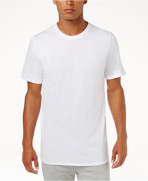 b5348a8b ... Jockey Men's 3 Pack Essential Fit Staycool + Cotton Crew Neck  Undershirts ...
