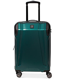 "CLOSEOUT! Revo Apex 21"" Expandable Hardside Spinner Suitcase, Created for Macy's"