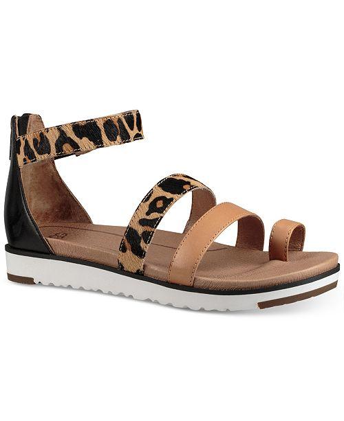 UGG® Zina Platform Flat Sandals & Reviews - Sandals & Flip