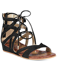 Sam Edelman Danica Lace-Up Sandals, Little Girls & Big Girls