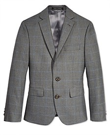 폴로 랄프로렌 보이즈 자켓 Lauren Ralph Lauren Windowpane Jacket, Big Boys,Grey