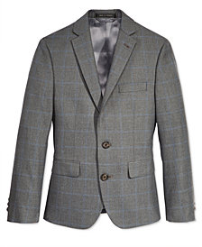 Lauren Ralph Lauren Windowpane Jacket, Big Boys Husky