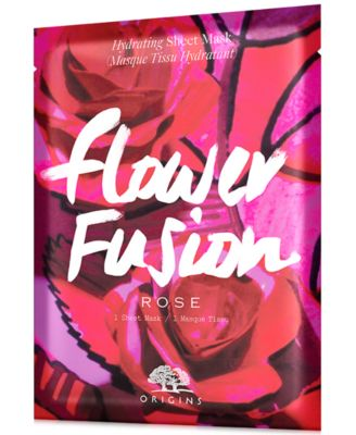 Flower Fusion Rose Hydrating Sheet Mask