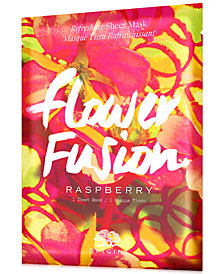 Origins Flower Fusion Raspberry Refreshing Sheet Mask
