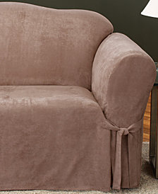 Sure Fit Soft Faux Suede Loveseat Slipcover
