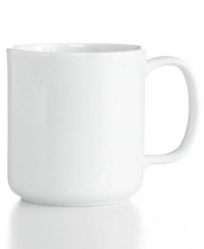 The Cellar Whiteware Mug, Created for Macy\'s - Dinnerware - Dining ...