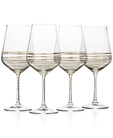 Electric Boulevard 4-Pc. Goblet Set