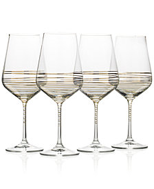 Mikasa Electric Boulevard 4-Pc. Goblet Set