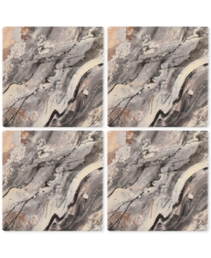 Thirstystone Minerals 4Pc Occasions Coaster Set
